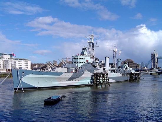 Authentic Spy Games aboard HMS Belfast - Spy Games